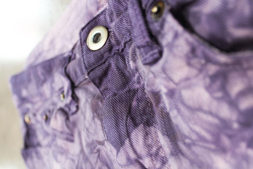 Purple denim