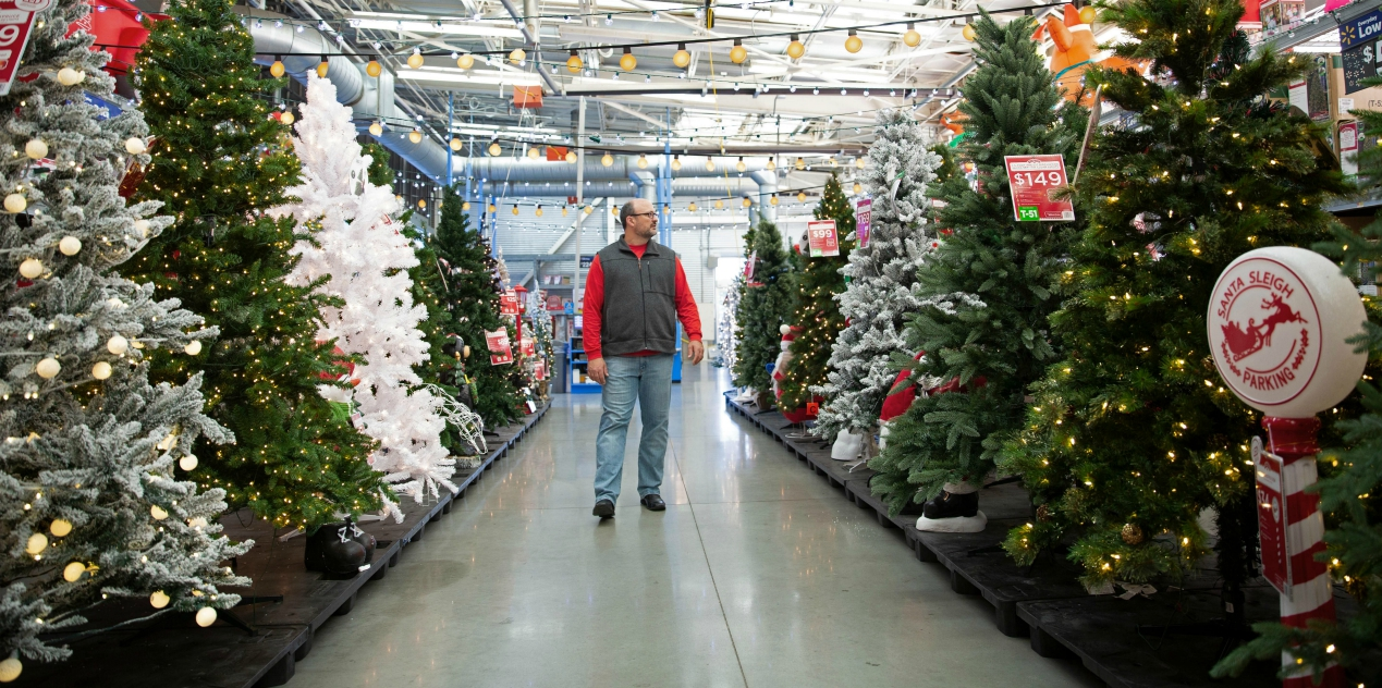 Walmart is kicking off holiday shopping earlier this yesterday because the season has six fewer days between Thanksgiving and Christmas.