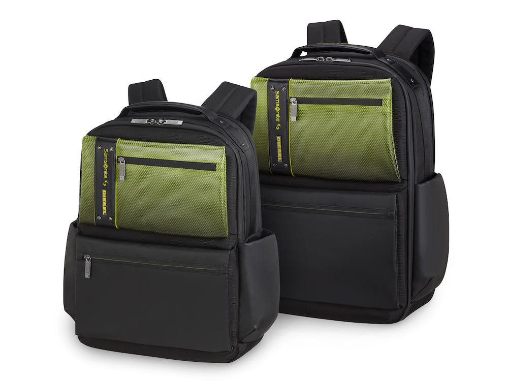 Diesel teams with Samsonite on three special edition collections featuring transparent luggage.