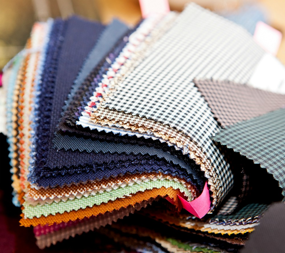 Frontier's fabric sample software houses 20,000 fabric options from 25 mills.