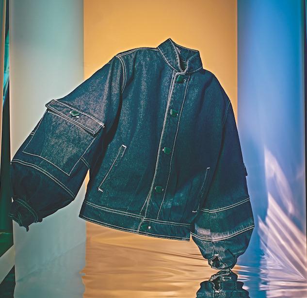 Global Denim jacket