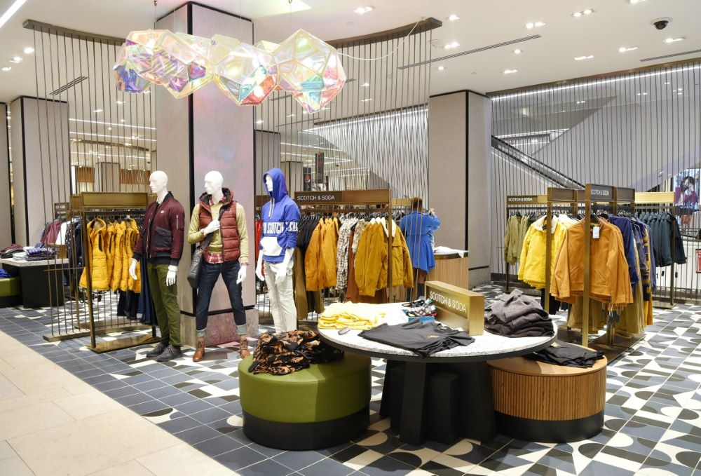 A look at The Park, inside Macy's new destination space for men's fashion.