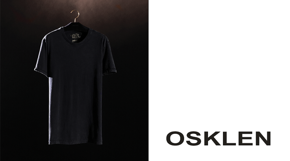 Osklen and Polygiene collaborate on a luxury t-shirt collection with odor-blocking properties