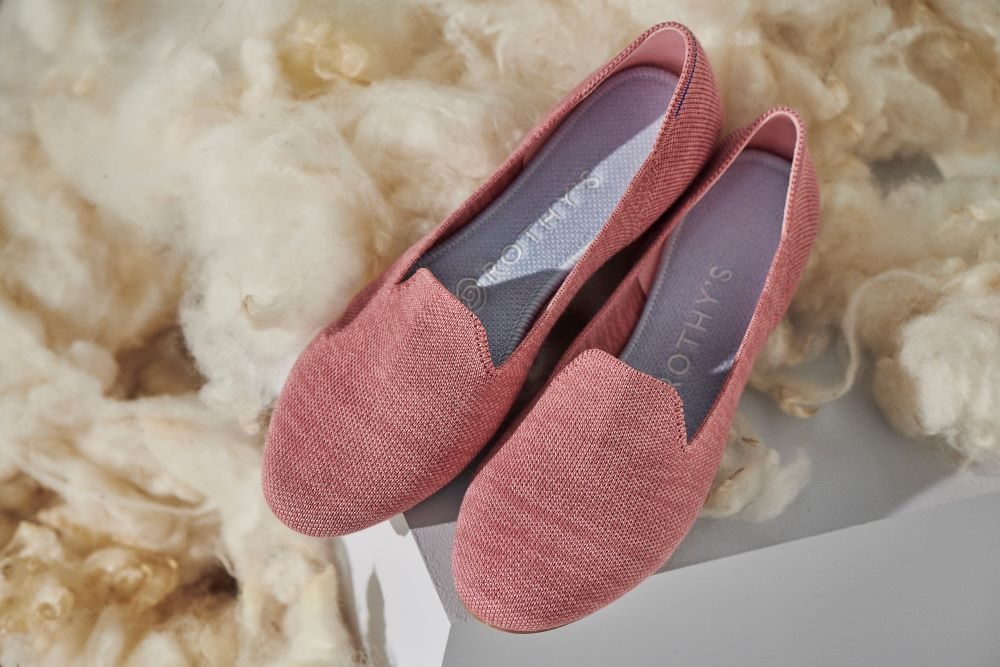 Best known for its comfy-chic eco-friendly flats, Rothy's unveiled this week its first new material since its inception: merino wool.