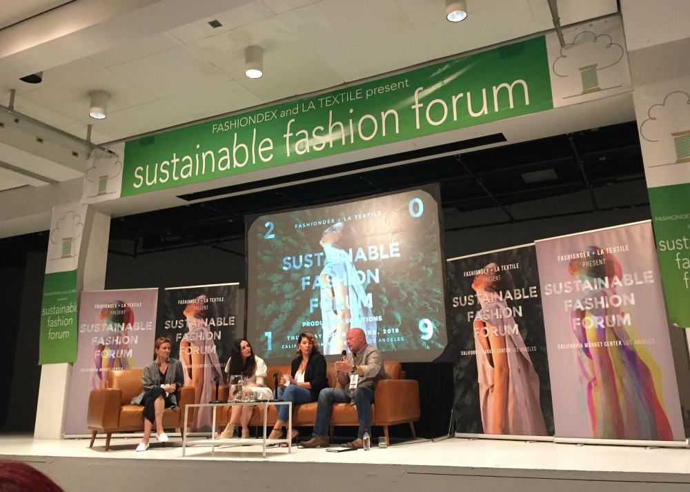 At LA's Sustainable Fashion Forum, U.S. manufacturers spoke to challenges and victories.