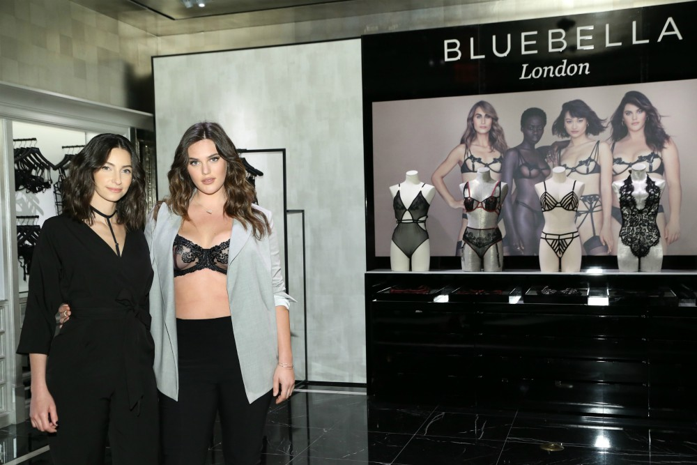 Victoria's Secret launched a collaboration with Bluebella, a London lingerie brand.