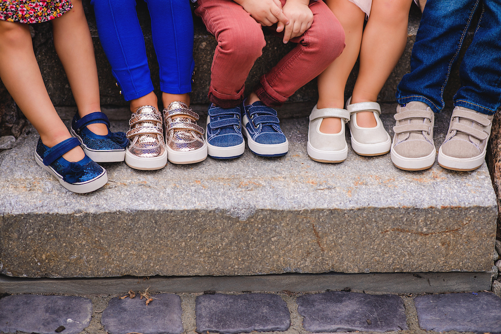 Zutano acquired Morgan & Milo to offer children's footwear for the ages spanning infancy to the early juvenile period.