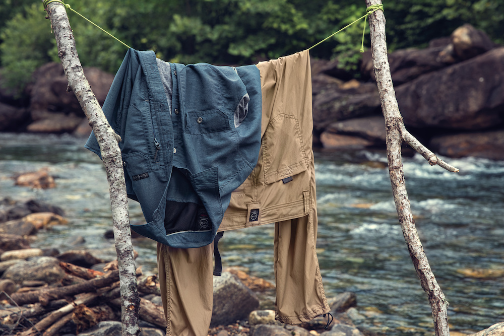 Wrangler's All Terrain Gear sustainable denim collection features Western qualities intended for high performance and outdoor activities.