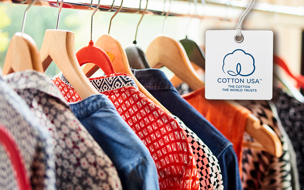 COTTON USA Virtual Hangtags help brands and retailers highlight the U.S. cotton content in their apparel, which can increase online sales.