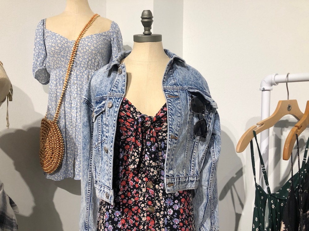 For Spring 2020, teen retailer American Eagle channeled throwback styling and West Coast vibes with dye effects, shorts and vintage washes.