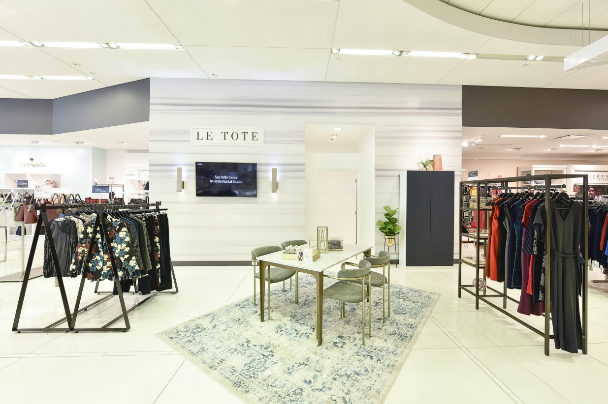 New Lord & Taylor president Ruth Hartman reveals plans for Le Tote and the department store to integrate inventory and launch shop-in-shops.