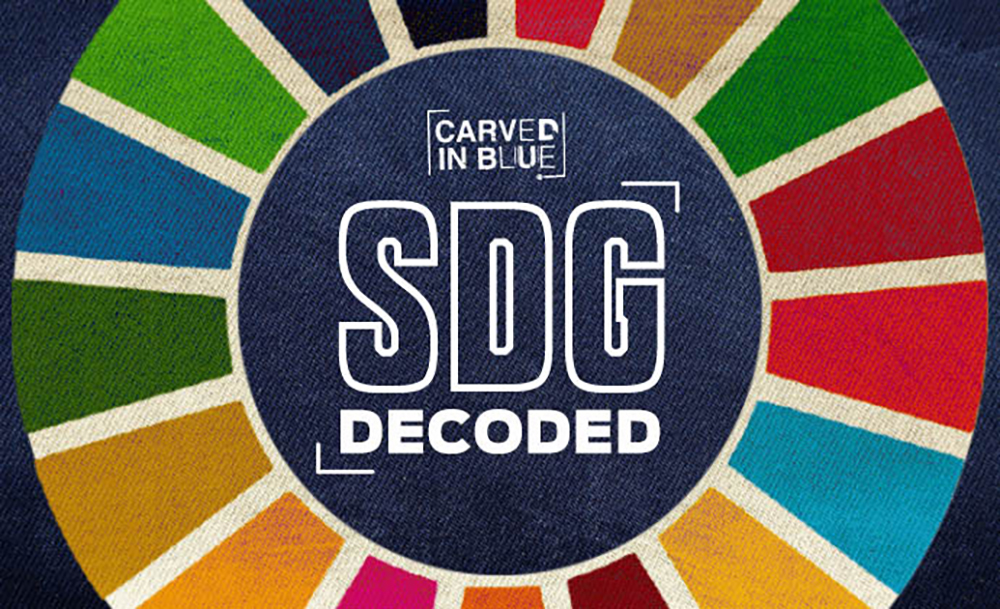 Carved in Blue SDG Decoded