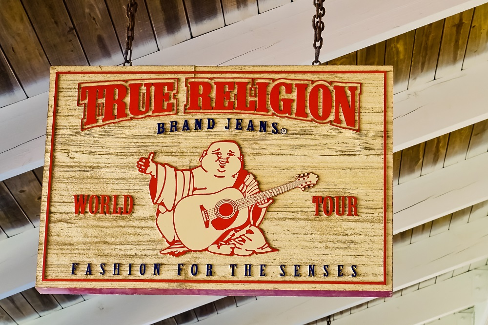 Denim label True Religion filed its second Chapter 11 bankruptcy petition in three years, the latest victim of coronavirus store closures.