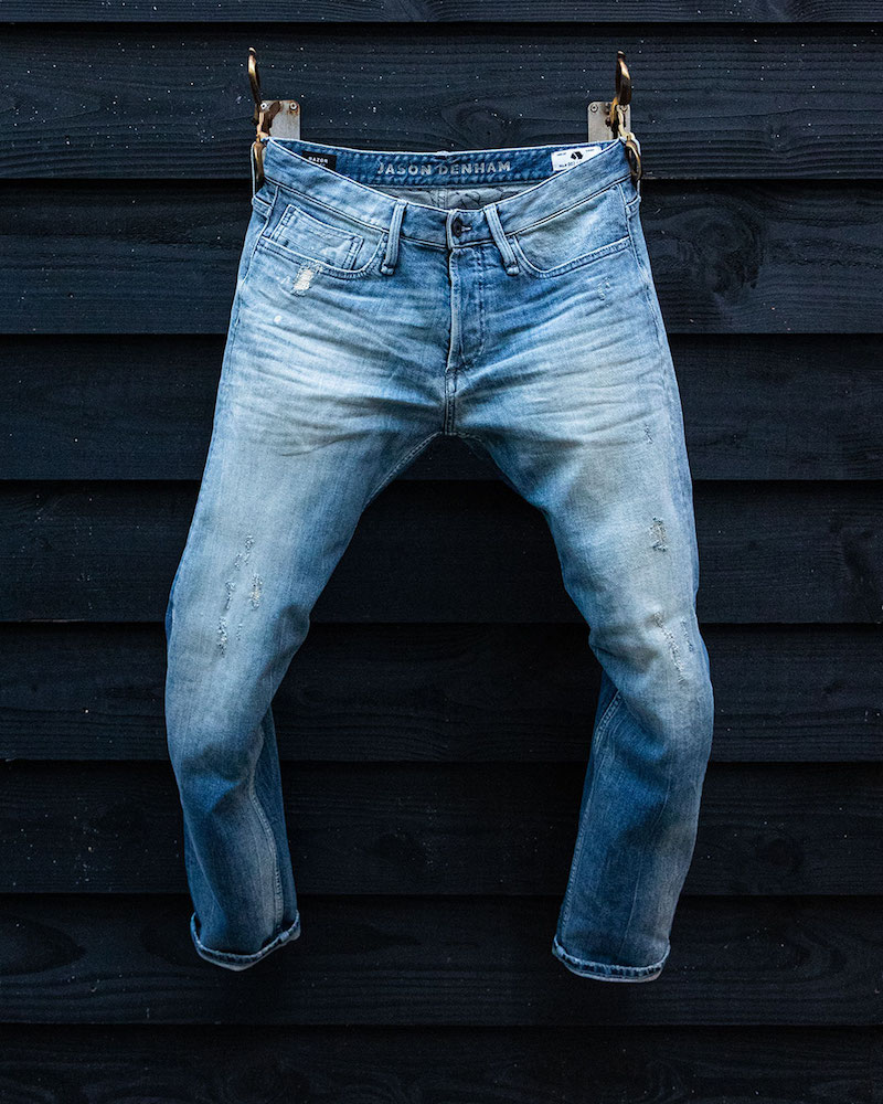 Candiani and Denham announced the world's first line of biodegradable stretch denim, created with organic cotton and natural rubber fiber.