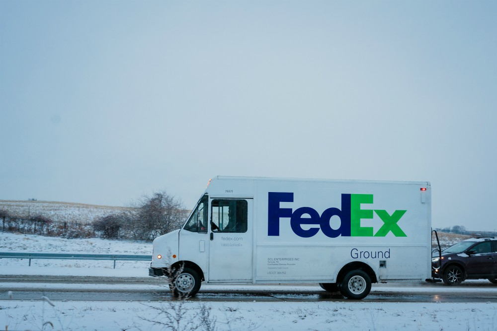 Global delivery and logistics provider FedEx predicts record package volume on Cyber Monday this year from deal-hunting holiday shoppers.