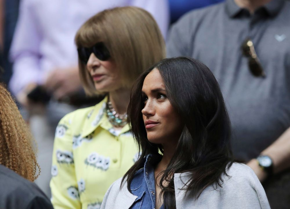 Duchess of Sussex Meghan Markle wore a denim J.Crew shirt dress to the U.S. Open in September, where she mingled with Vogue editor-in-chief and fashion icon Anna Wintour. Lyst named the top 13 fashion moments from 2019, including everything from legendary fashion shows to drama on the runway.
