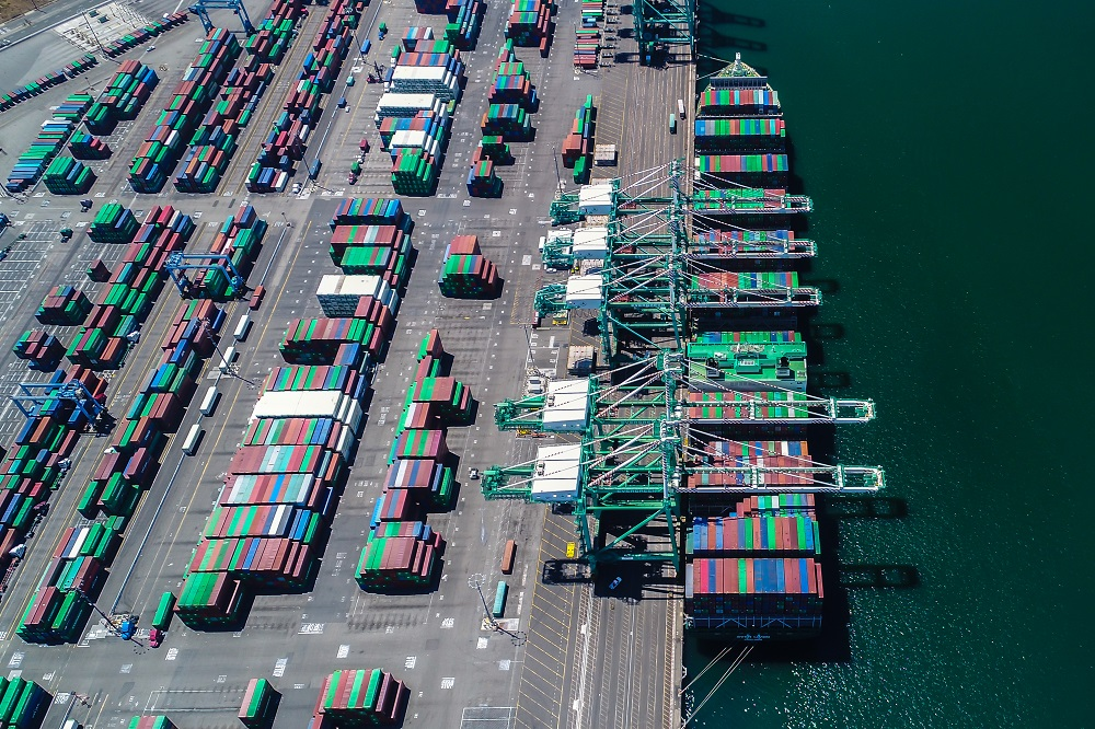 A new study conducted for the Port of L.A. said tariffs threaten 1.5 million U.S. jobs and $186 billion in U.S. economic activity.
