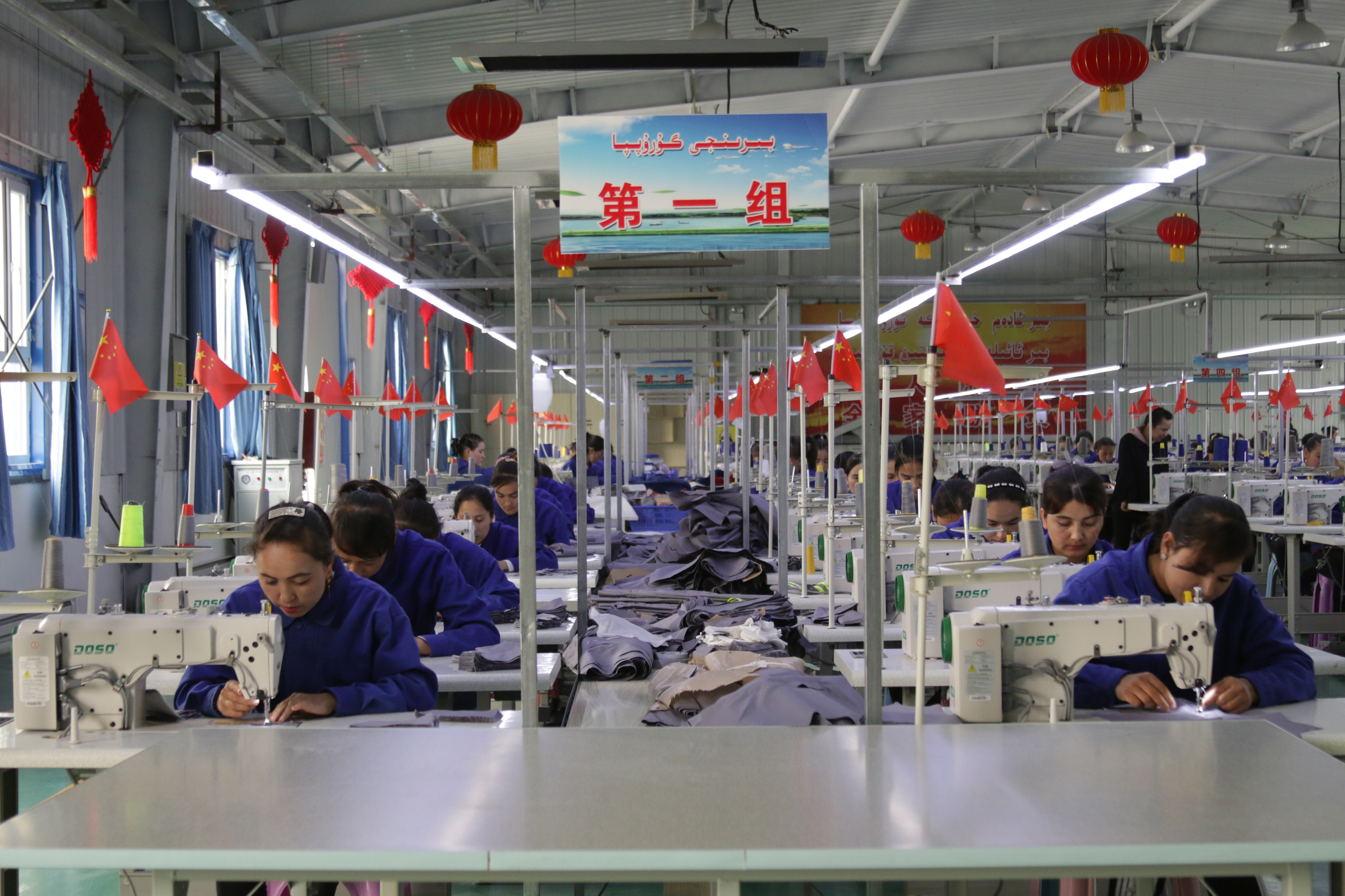While the US and China figure out whether they agreed to rollback tariffs or didn't, China's apparel sector seems to be faring just fine.