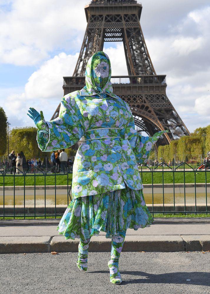 Cardi B in Paris