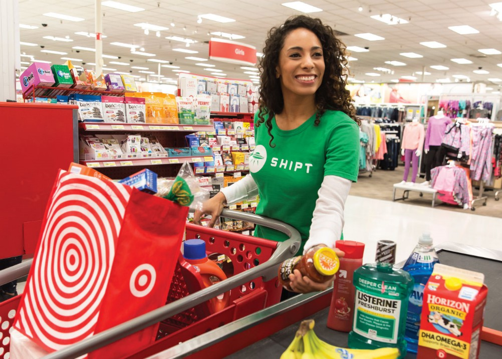 Target and retail delivery service Shipt are offering free, same-day shipping between Nov. 17-26 to shoppers who spend $75 or more.