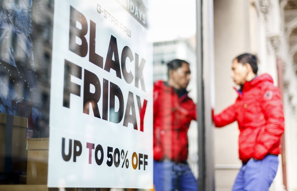 The majority of shoppers are gearing up for sales in stores and online, starting Thanksgiving Thursday and continuing through Cyber Monday.