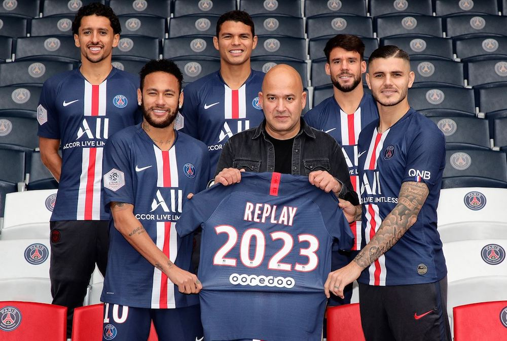 """Denim brand Replay inked a deal to become Paris Saint-Germain Football Club's """"Official Denim Partner"""" for the next four seasons."""