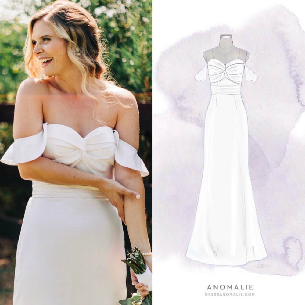 Custom wedding dress startup Anomalie launched a new AI and data science tool that helps brides turn 4 billion options into a dream gown.