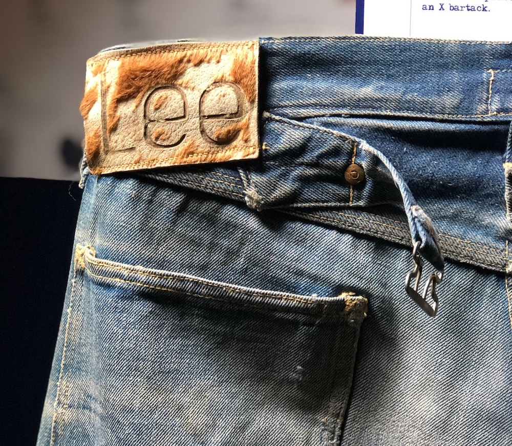 At Denim Premiere Vision, Alessio Berto, owner of The Tailor Pattern Support, and attendees retrace three archival jeans.