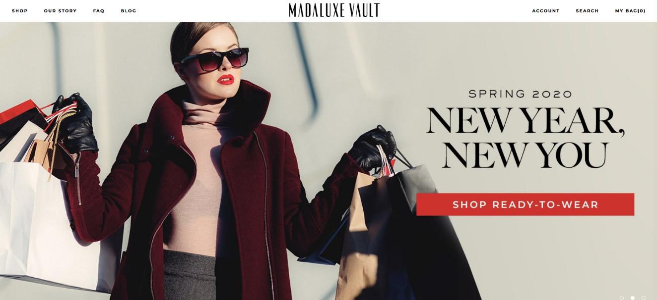 Off-price, multi-brand luxury boutique MadaLuxe Vault's looking at expansion opportunities in 2020 as it expands wholesale distribution.