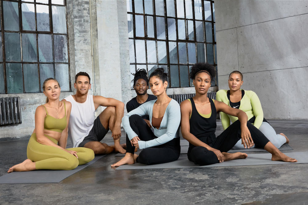 Nike introduces Infinalon fabric in new yoga collection, promising twice the stretch of spandex.