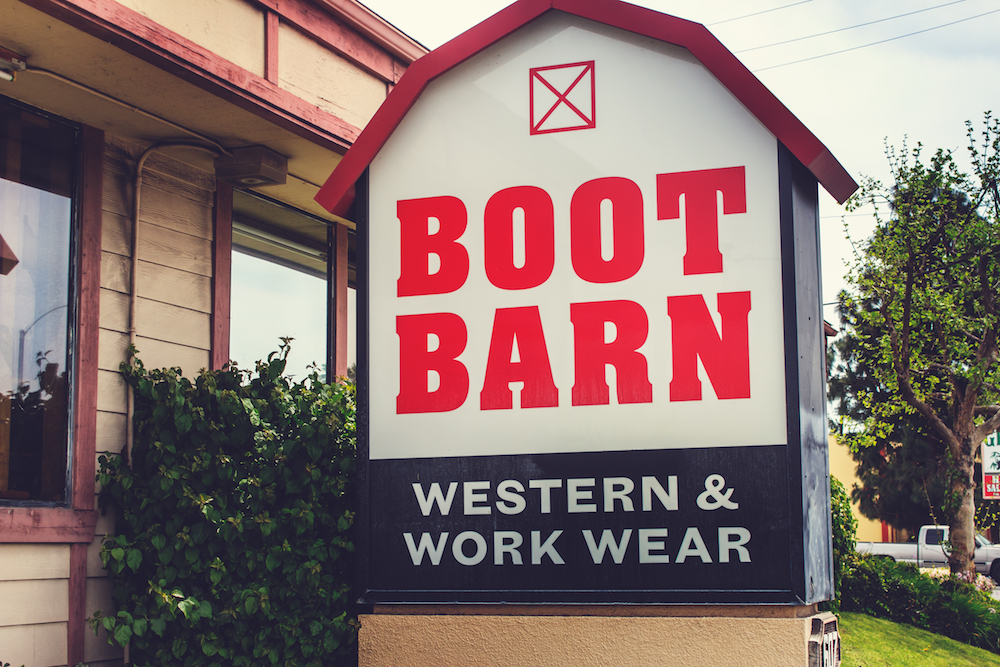 Boot Barn CEO James Conroy said the retail chain could double its store count to 500, thanks to western wear's growing consumer popularity.
