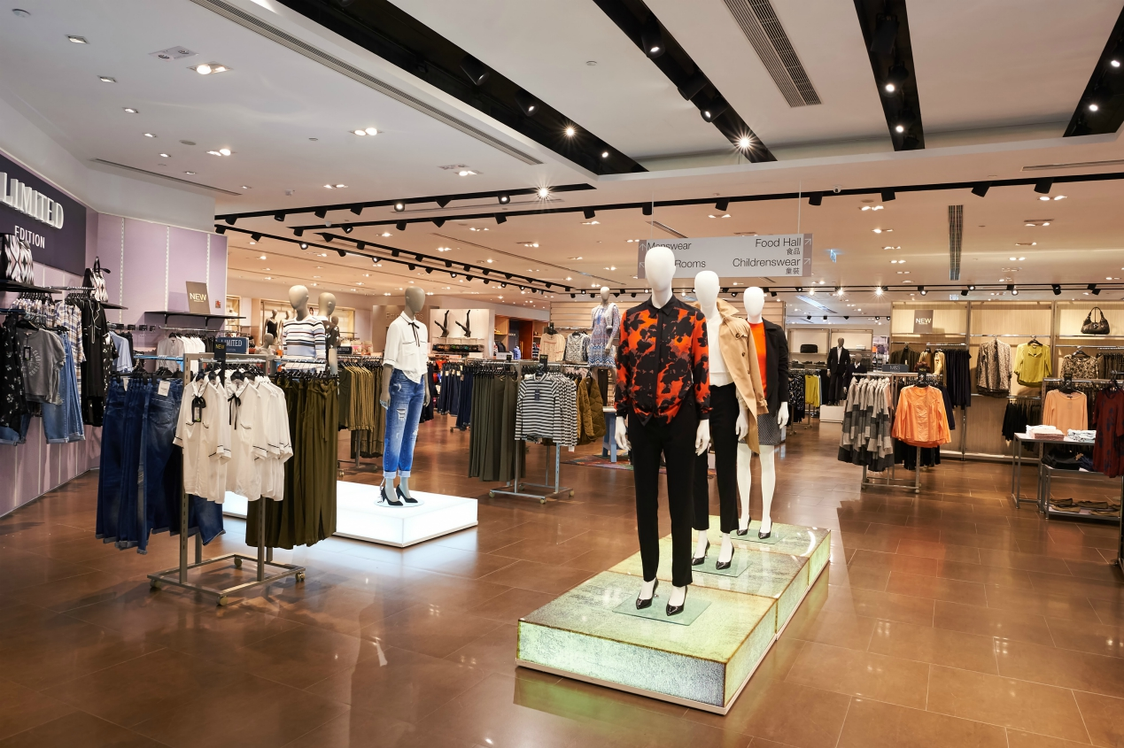 Realigning inventories to sales by focusing on open to sell will help department stores the most when it comes to improving margins.