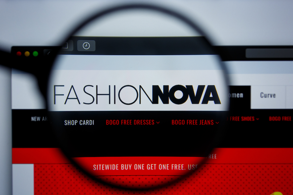 Fashion Nova settled a $2 million civil suit in Los Angeles due to allegations that the fast fashion brand failed to comply with state e-commerce regulations
