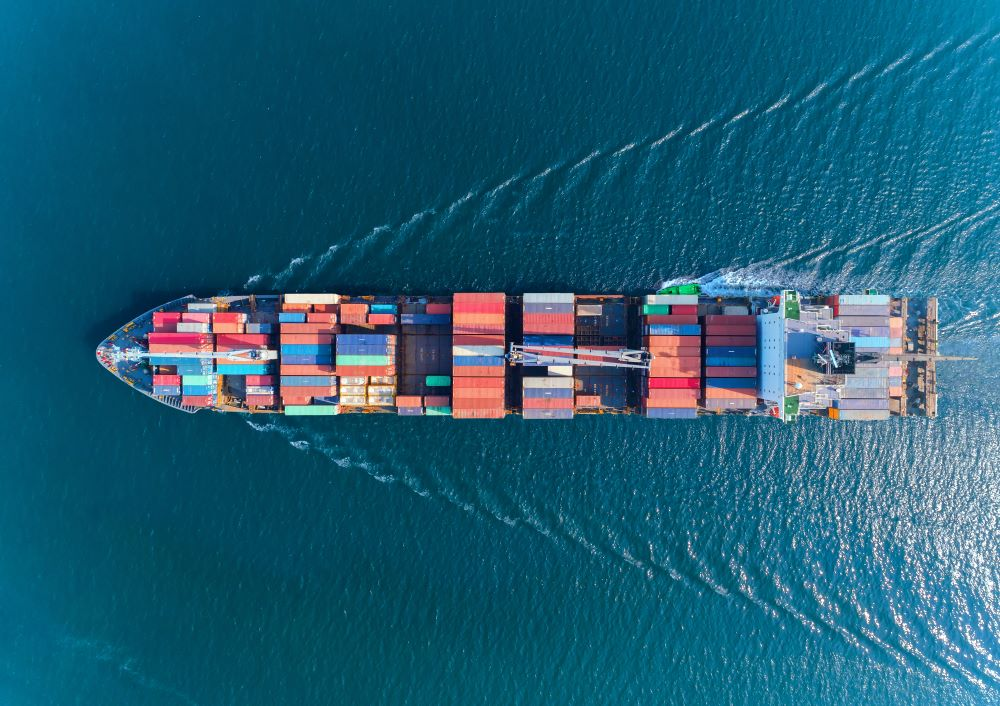 From ground to ocean to air, logistics firms FedEx, UPS, DHL and Maersk are taking significant steps to lower their carbon emissions and raise sustainability efforts.