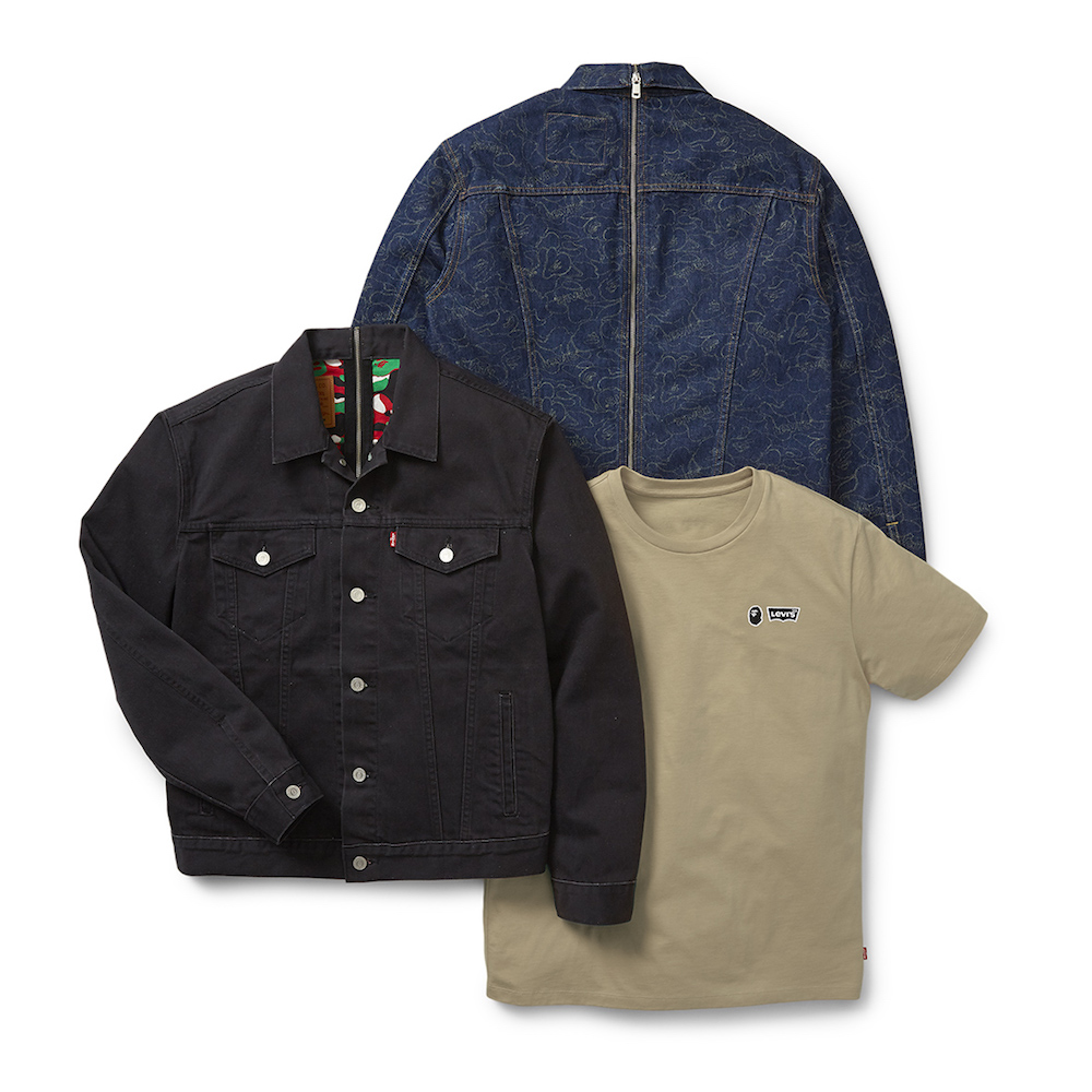 Levi's and BAPE's New Drop Mixes Two Iconic Styles