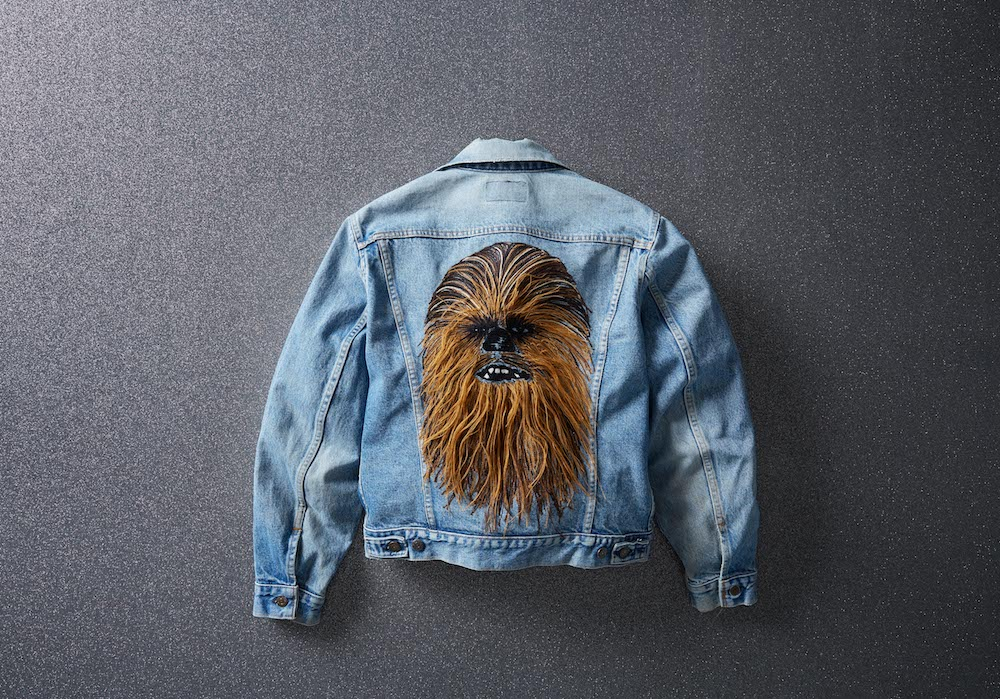 "Star Wars and Levi's launched a limited-edition vintage Chewbacca trucker jacket in honor of ""Star Wars: The Rise of The Skywalker."""