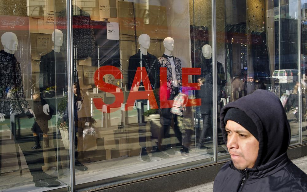 Holiday retail sales grew 3.4 percent versus last year, according to a Mastercard report. Experts were expecting growth at 4 percent or higher.