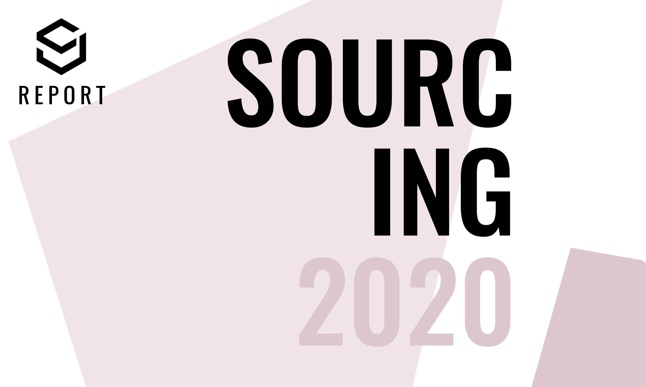 Sourcing 2020 report