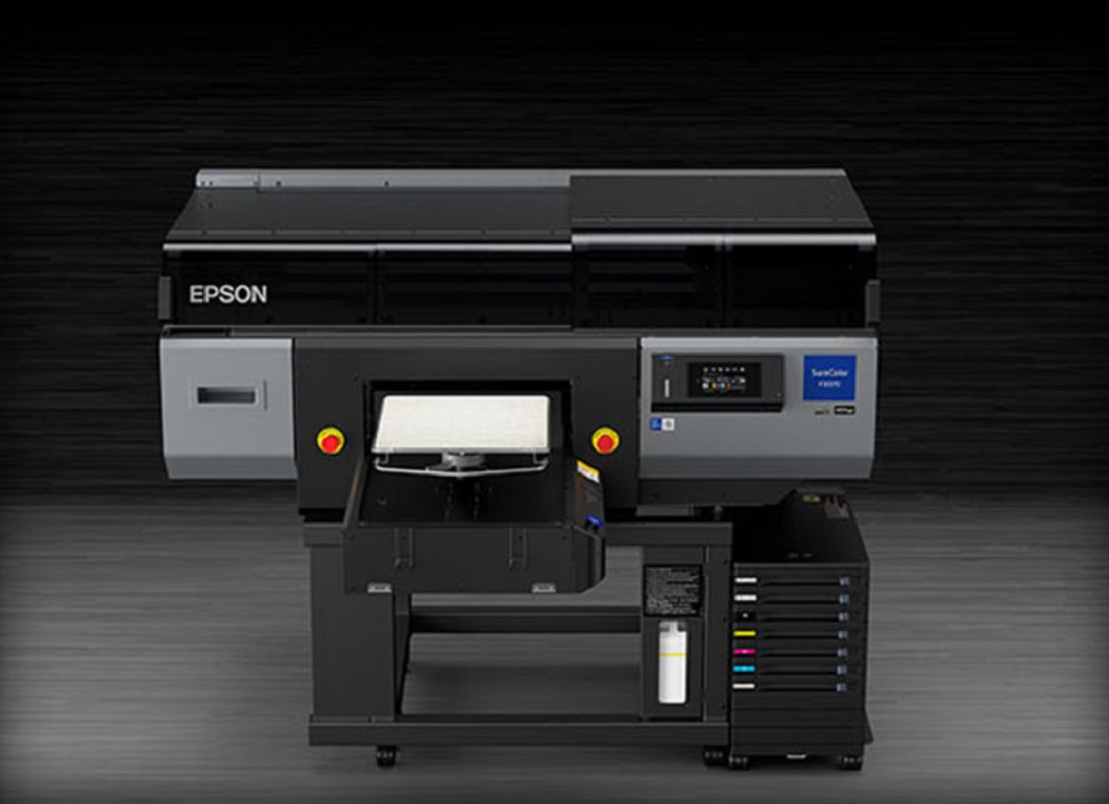 Epson introduced its first industrial direct-to-garment printer: the SureColor F3070, designed to provide low total cost of ownership.
