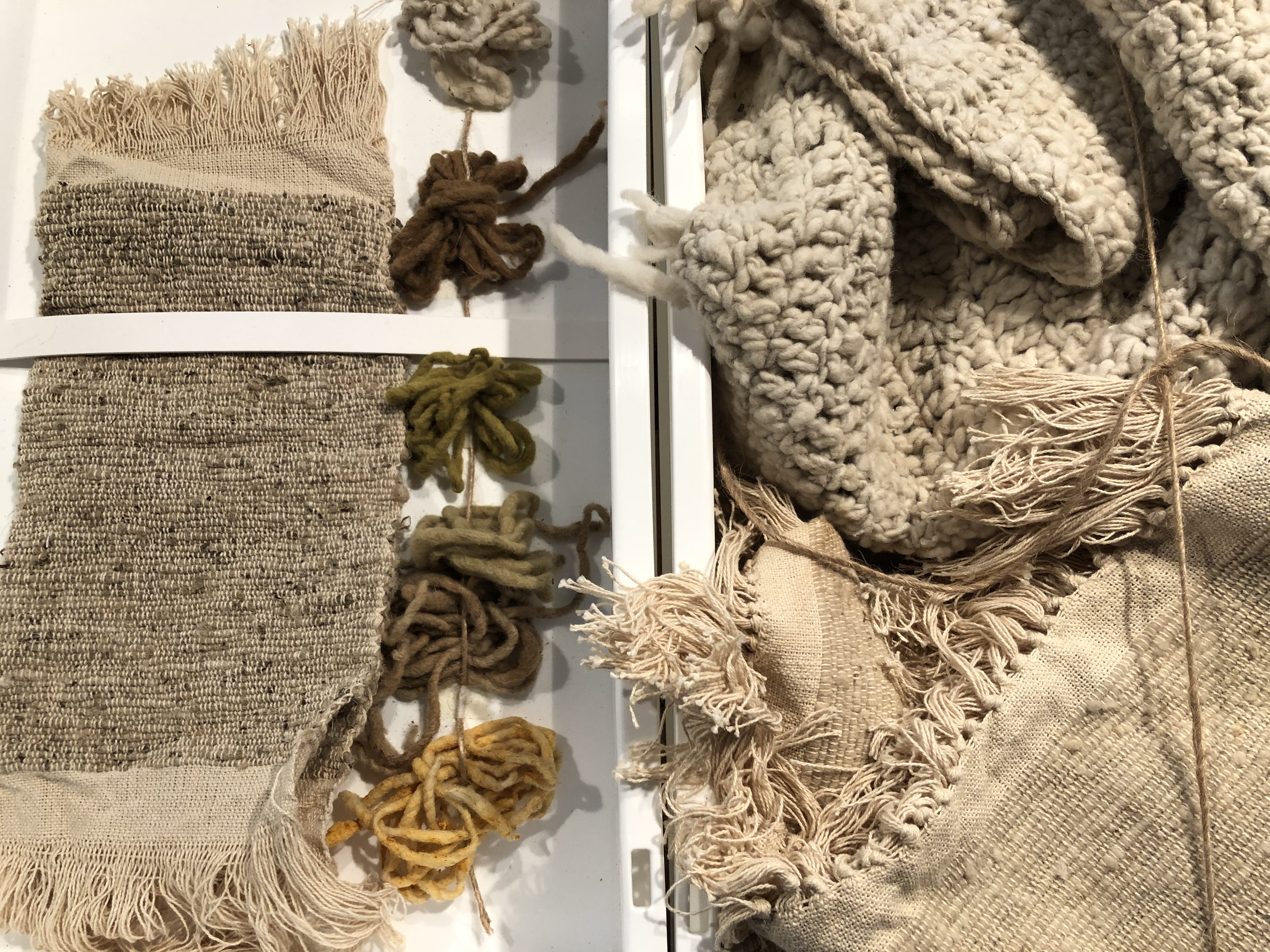 Future Materials Lab, Heimtextil 2020. At the Heimtextil home textiles show, material innovation alters fabric's future, tapping remade items, natural assets and bio materials.