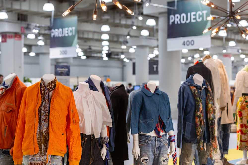 Denim brands at Project New York showcased comfortable denim.