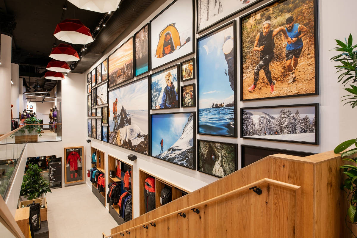 """Manhattan's Nordstrom flagship, The North Face's SoHo outpost, and the new """"family experience"""" Camp store show the best of retail design."""