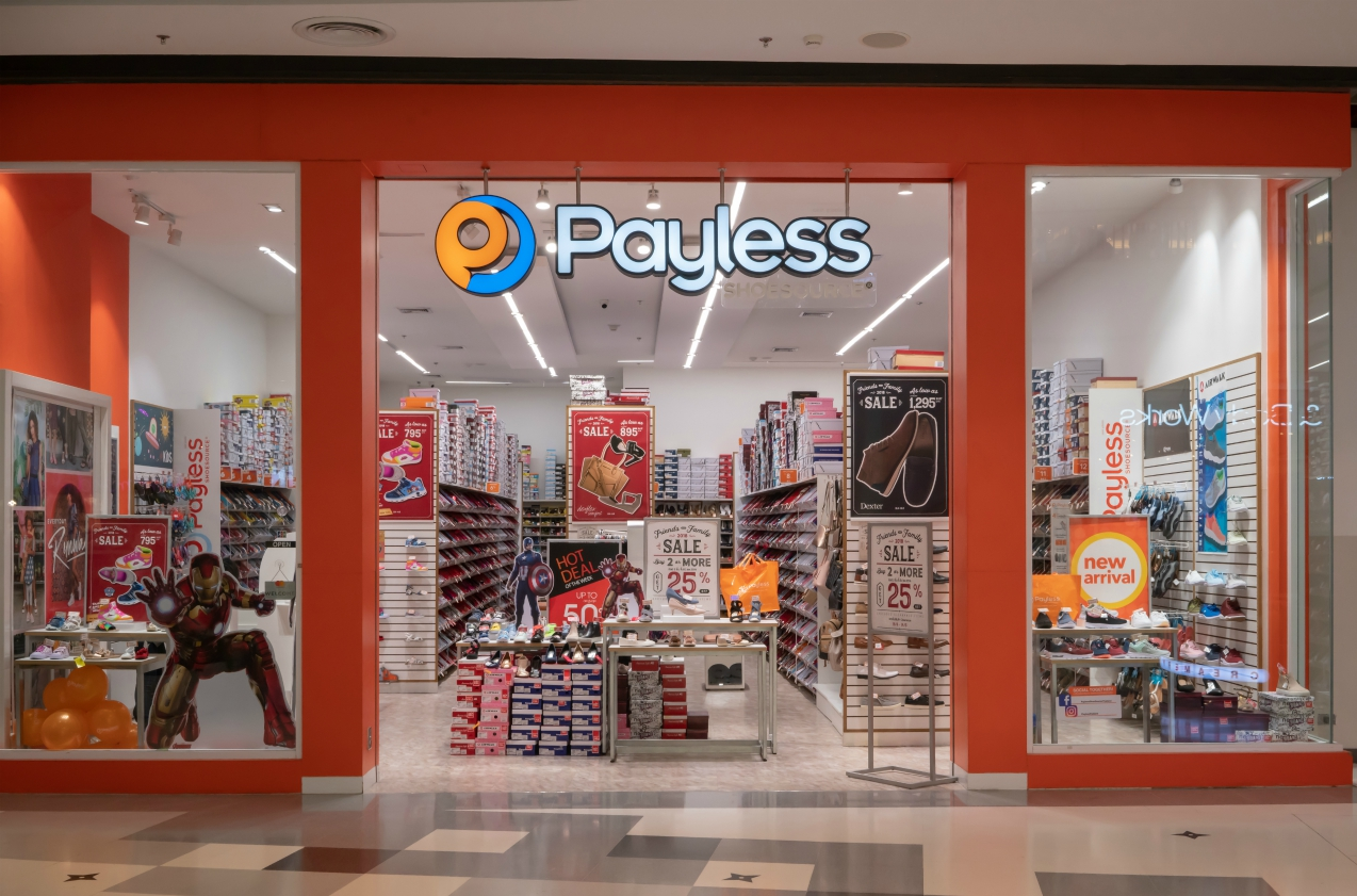 The newly reorganized Payless ShoeSource, exiting bankruptcy court proceedings earlier this month, plans to rebuild its U.S. store base.