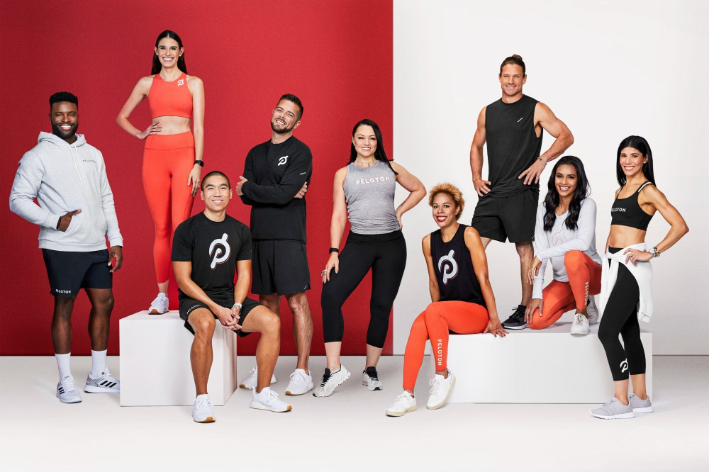 Peloton, Athleta and Hill City debuted a collection of active apparel on Wednesday.