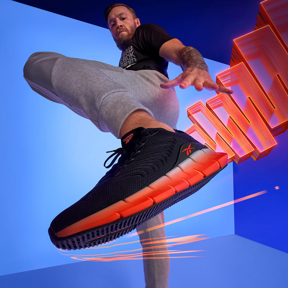 Reebok has officially launched a new silhouette, the Zig Kinetica, with the help of UFC star Conor McGregor