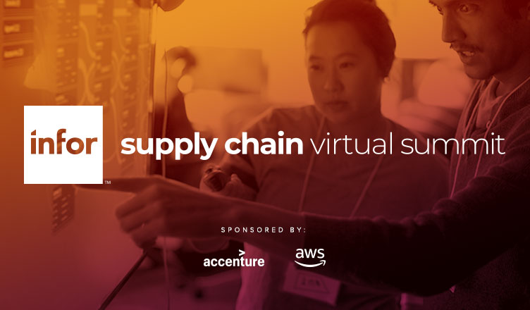 Infor's Virtual Supply Chain Summit is designed to help executives become more data-driven to better sense and respond to customer needs.