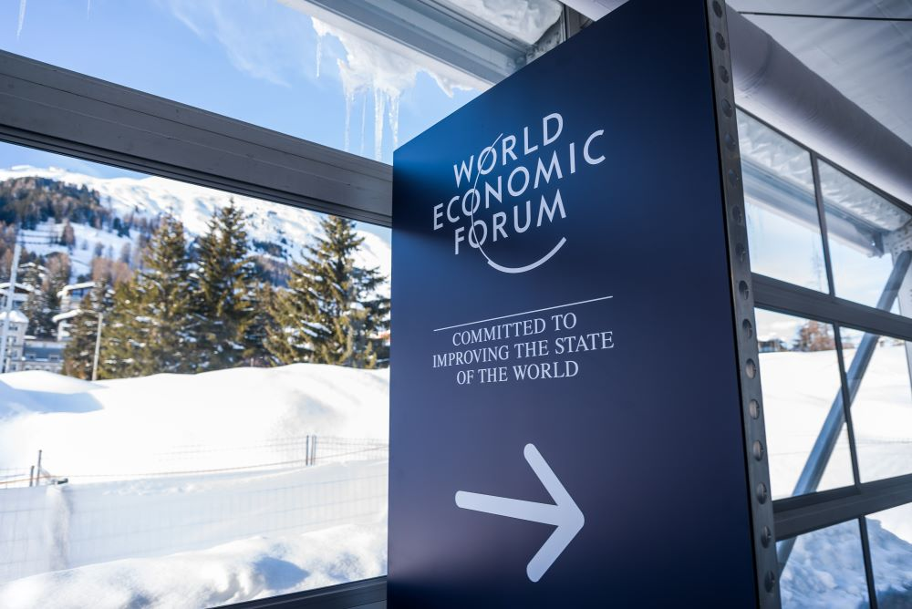 In Davos, the World Economic Forum unveiled a platform sharing data from different companies' supply chain blockchains on a public site.