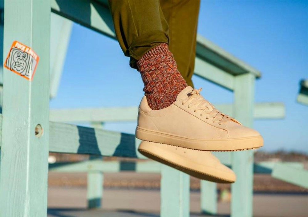 Clae's simple sneakers epitomize California cool.