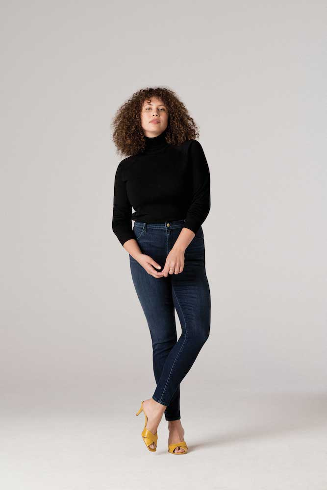 J Brand rolled out four new styles of inclusive jeans up to size 38, with more on the way.