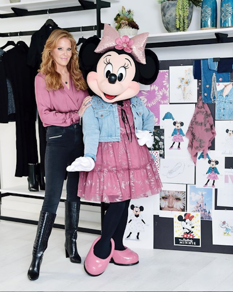 Paige co-founder Paige Adams-Geller and Minnie Mouse were among the female icons recognized by Create and Cultivate's 100 list.